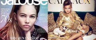 N� er den kontroversielle barnemodellen p� forsida av fransk magasin