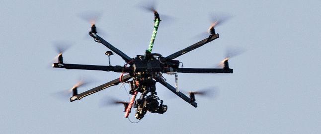 Dronekrig i nabolaget