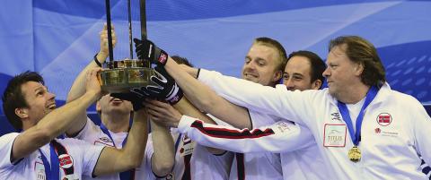 Team Ulsrud tok Norges f�rste VM-gull siden 1988