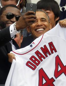 - Dette kan bli Obamas siste selfie