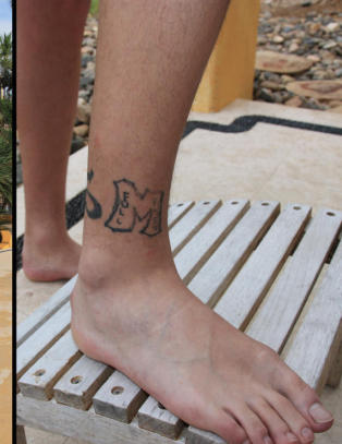 - Jeg tatoverte meg selv i fylla
