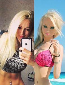 �Den menneskelige Barbie-dokka� avsl�rer hvordan hun egentlig ser ut