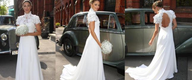 Se Jenny Skavlans brudekjole