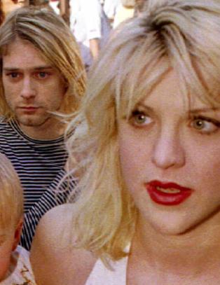 Hevder Courtney Love skrev lappen som ble funnet p� Kurt Cobains lik
