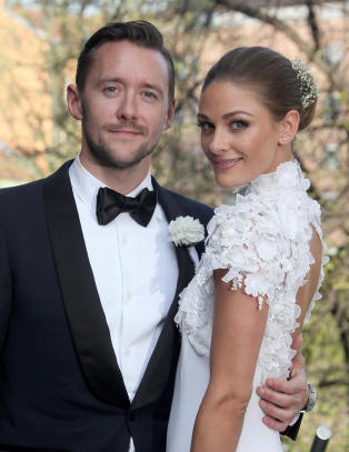 Avslørte bryllupsreisen på Instagram