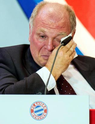 Hoeness ute av �Hall of Fame� i tysk fotball