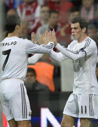 B�de Ronaldo og Bale tilbake i trening etter skade