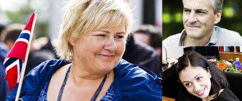 Toppolitikernes grunner til � elske Norge