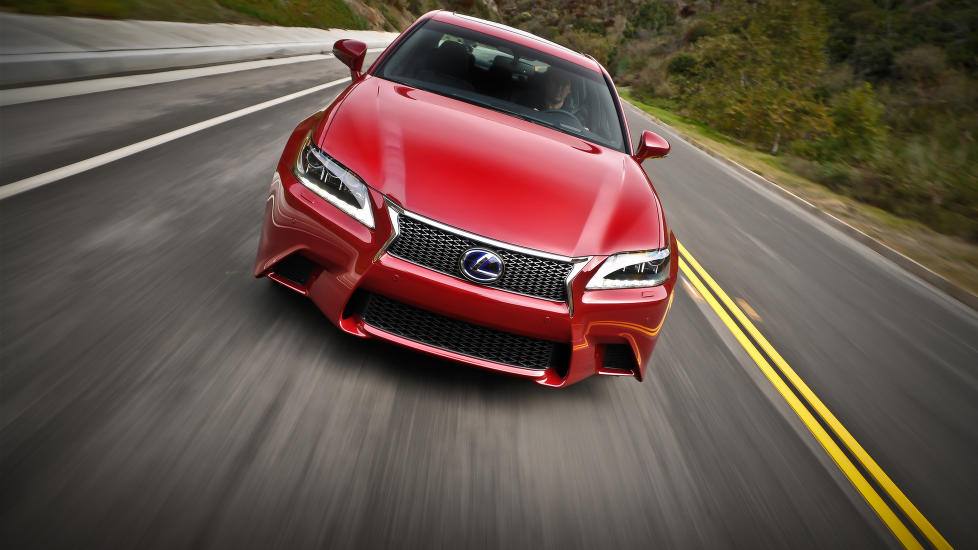 VINNER IGJEN: Lexus tar seieren igjen i den årlige kåringen  Auto Index. Foto: FRED MAGNE SKILLEBÆK/DINSIDE.NO