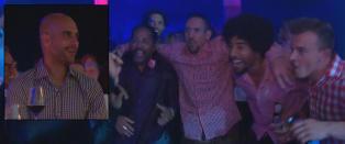 - Guardiola kysset hånda til Tshawe etter konserten