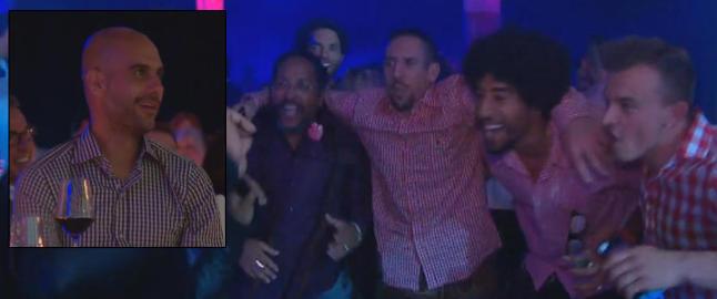 - Guardiola kysset h�nda til Tshawe etter konserten