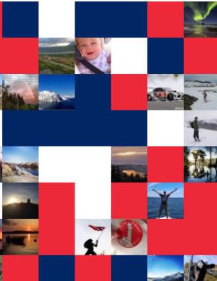 - I Norge kan man uttrykke nasjonalf�lelse uten at det er noe suspekt ved det