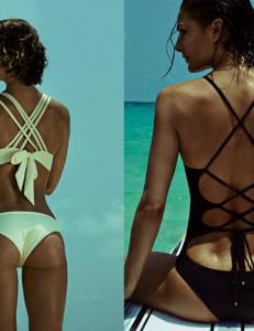 - For � strutte og str�le m� man elske bikinien sin
