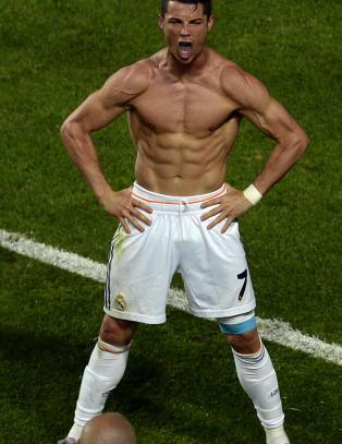 Dette skal v�re grunnen til Ronaldos ville feiring etter betydningsl�s scoring