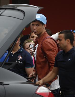 Ronaldo i gang med VM-forberedelsene