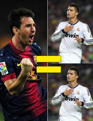 Du f�r nesten to Ronaldoer  for �n Messi