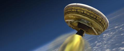 �Flyvende tallerken�-test avlyst
