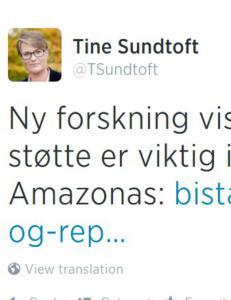 Klimaministeren med Twitter-tabbe: - Har hun ansatt dumme spindoktorer til � hjelpe seg?