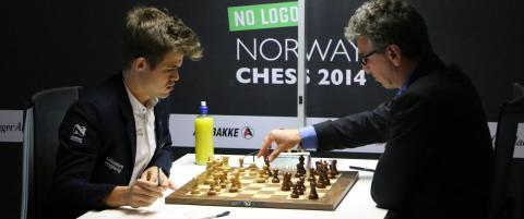 Carlsen vant over Agdestein