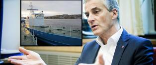 Norske krigsskip endte hos nigeriansk eks-pirat. St�re skylder p� britiske myndigheter