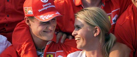 Hevder Schumacher �snakker� med �ynene