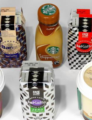 Lyst p� en oppkvikkende iskaffe?