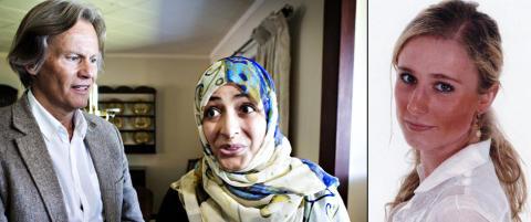 Fredsprisvinner Karman m�tte Martines familie: - Rettferdigheten vil seire, gjerningsmannen vil bli tatt