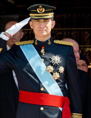 N� er han Spanias nye konge