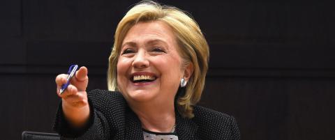 Men vil hun bli USAs president?