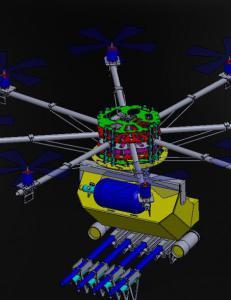Vil stoppe streikende med pepperstray fra droner, for � unng� ny drapstragedie