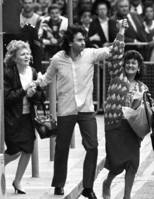 Gerry Conlon fra �Guildford Four� d�de i dag