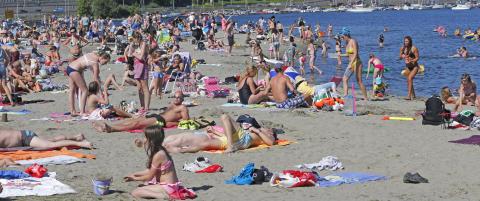 Bekymring over nordmenns sandp�sing p� stranda