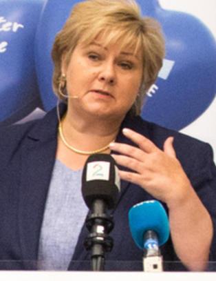 Solberg: - Ap svikter som seri�st styringsparti