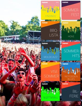 Dagbladet og Spotify gir deg lyden av sommer!