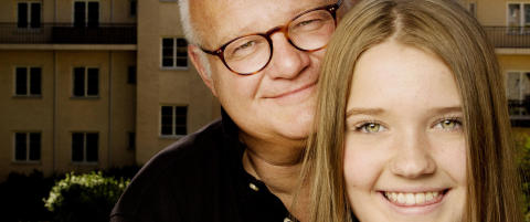 Nesten hele livet har Finn Bjelke (55) g�tt rundt  og trodd han skulle d�. Da sykdommen kom,  var det datteren den rammet.