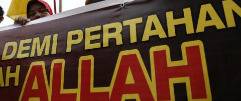 Malaysia begrenser bruken av ordet Allah