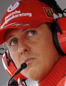Pr�ver � selge Schumachers medisinjournaler