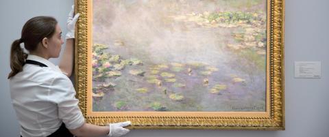 Ikonisk Monet under hammeren for 330 millioner