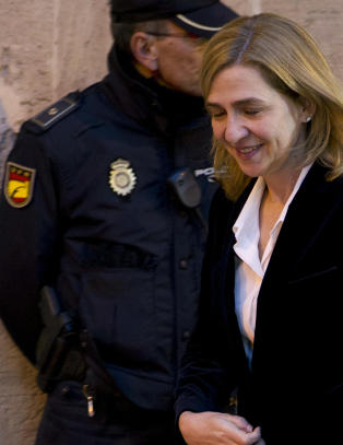 Spansk dommer vil tiltale prinsesse Cristina