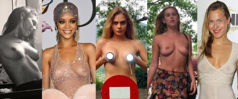 Slik kjemper kjendisene for kvinnelig nakenhet