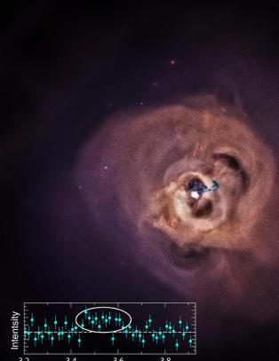 Oppdaget mystisk r�ntgensignal 240 millioner lys�r unna jorda