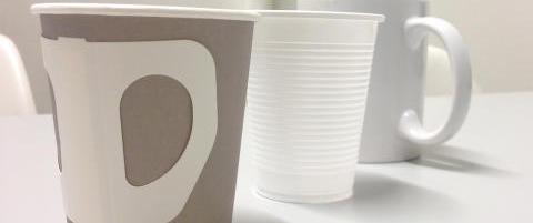 Gjetter du hvilken kopp som er best for milj�et?