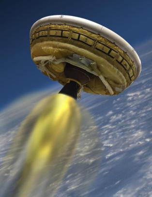 Fire ganger lydens hastighet mot Mars