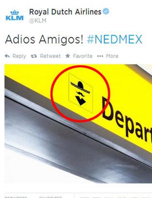 KLM h�net Mexico etter VM-exiten. S� slettet de meldingen