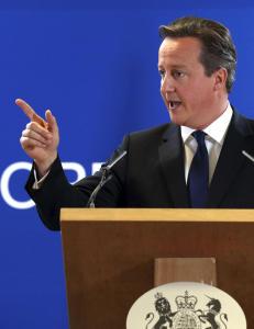 Cameron skj�t seg i foten for � vinne krigen i EU