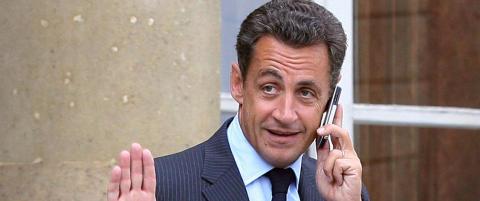 Sarkozy fors�kte � skjule seg som �Paul Bismuth�, men ble avsl�rt