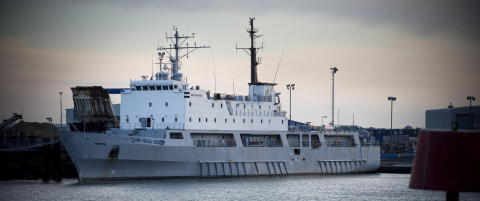 Nytt norsk krigsskip har havnet i Nigeria