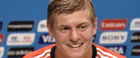 Den tyske midtbaneeleganten bare flirte da han fikk sp�rsm�l om Real Madrid