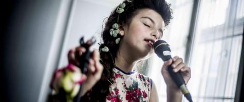 Hun har allerede vunnet «Norske talenter» og skal gi ut plate - men Angelina har også en annen drøm
