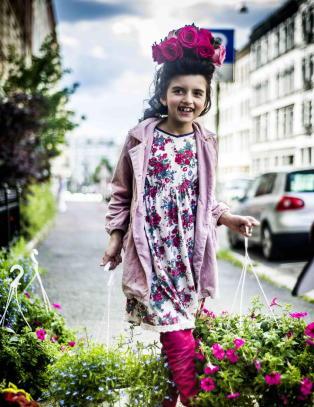 Hun har allerede vunnet �Norske talenter� og skal gi ut plate - men Angelina har ogs� en annen dr�m